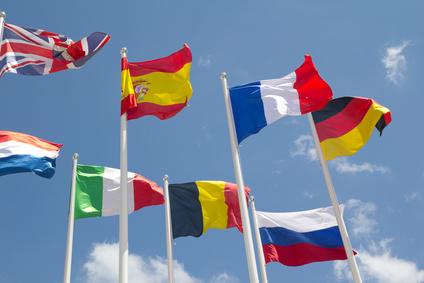 multiligue dans le web avec les drapeaux